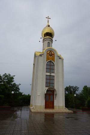 "Ortodoxná kaplnka pri ""tankovom"" pamätníku"