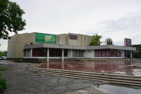 Tiraspoľské kino, príklad sovietskej betónovej architektúry