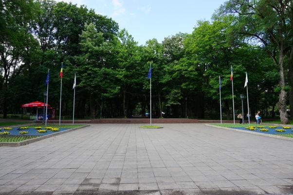 Park Štefana Veľkého v Kišiňove