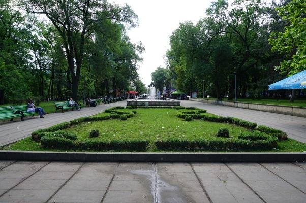 Katedrálny park v Kišiňove