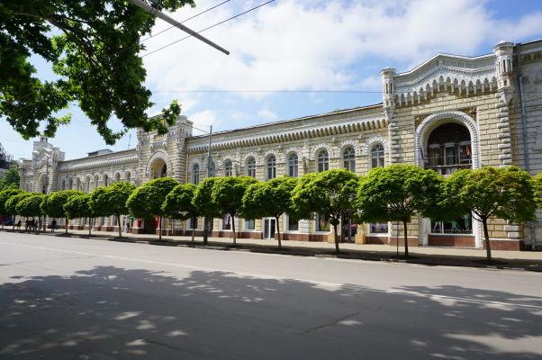 Hlavné kišiňovské námestie - Kišiňovská radnica