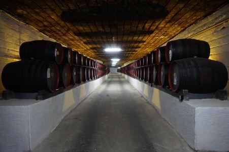 Podzemné pivnice v Cricove