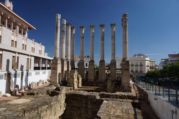 Rímsky chrám v Córdobe