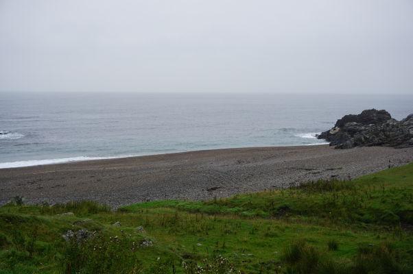 Ballyhillin Beach - pláž s polodrahokamami