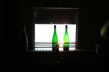 Presvecovanie fliaš slúži na určovanie čistoty a odhaľovanie zvyškov usadenín