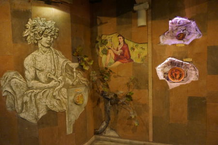 Artefakty pripomínajú kultúru pestovania vínnej révy v Moldavsku