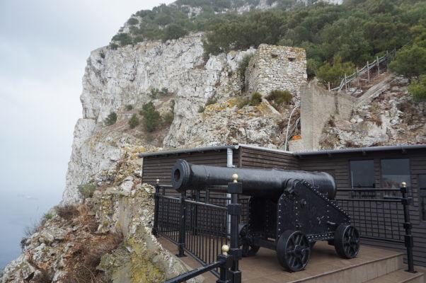 Kanón na Skale - pamiatka na Veľké obliehanie Gibraltáru
