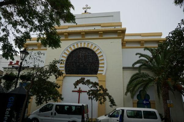 Anglikánska Katedrála Svätej Trojice na Gibraltári - chrám z 19. storočia postavený v štýle pripomínajúcom maurskú architektúru