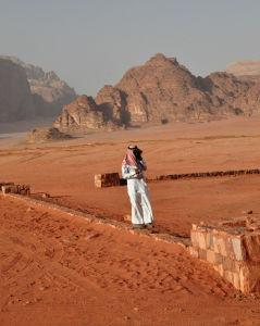 Beduín a moderná technika