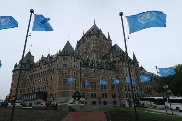 Hotel Le Château Frontenac v Québecu