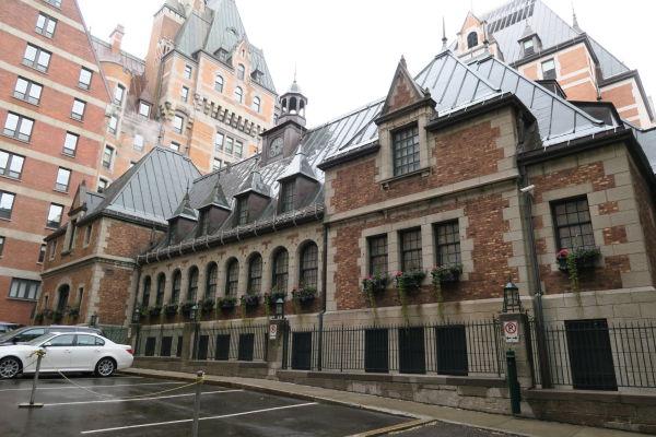 Hotel Le Château Frontenac v Québecu - ikonická stavba mesta z prelomu 19. a 20. storočia