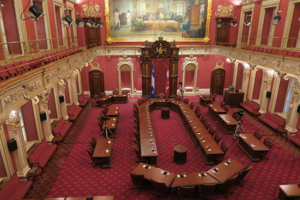 Horná komora (senát) parlamentu v Québecu