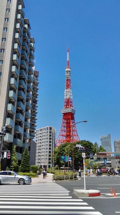 Tokyo Tower (Japonská rádiová veža) - najikonickejšia stavba mesta