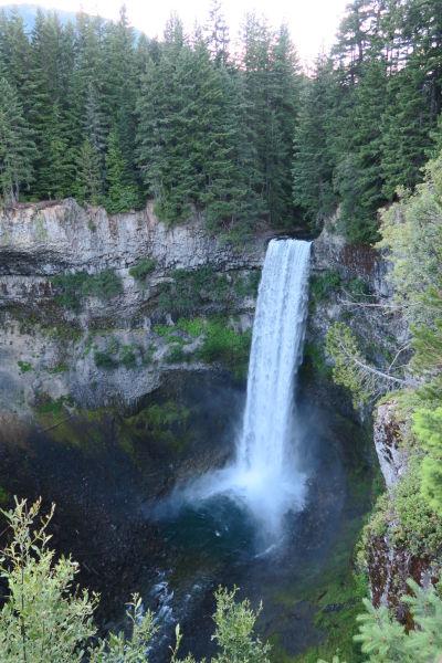 Vodopád Brandywine Falls v Britskej Kolumbii v Kanade