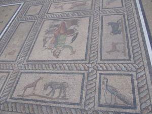 Pergamonské múzeum - Antická mozaika