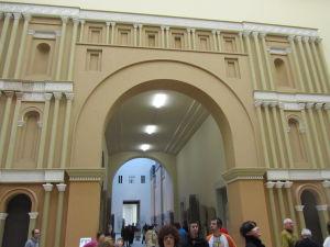 Pergamonské múzeum - Vstup k Ištarskej bráne