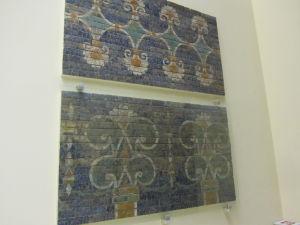 Pergamonské múzeum - Ištarská brána - Fragmenty