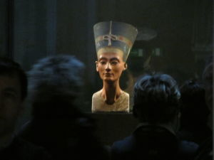 Nové múzeum - Egyptská zbierka - Busta Nefertiti