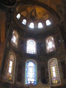 Hagia Sophia - Jedna z hlavných mozaík