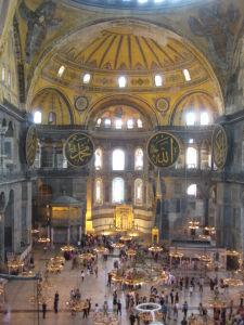 Hagia Sophia - Kompletne bez stĺpov