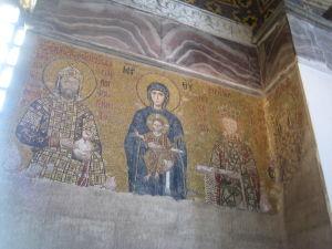Hagia Sophia - Jedna z najzachovalejších mozaík