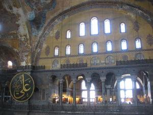 Hagia Sophia - Jemné kresťanské mozaiky a neotesané moslimské štíty