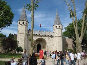 Palác Topkapı - Vstupná brána