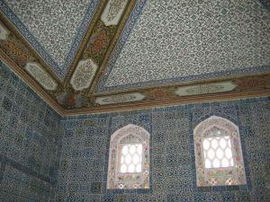 Palác Topkapı - Altánok