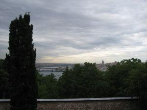 Palác Topkapı - Terasa