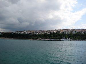 Trajekt v Istanbule