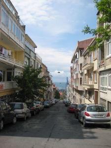 Uličky ázijskej strany Istanbulu
