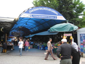 Tržnica na ázijskej strane Istanbulu