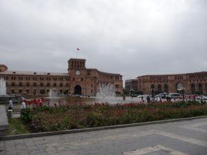 Námestie republiky - Budova vlády Arménskej republiky