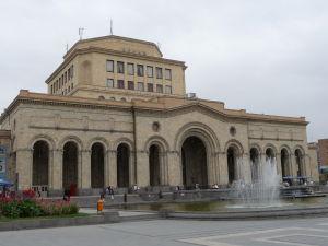 Námestie republiky - Národná galéria a Národné múzeum
