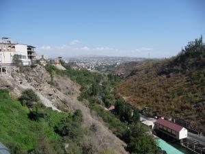 Údolie s riečkou Hrazdan