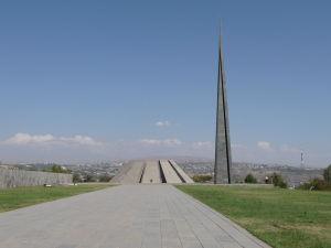 Pamätník arménskej genocídy na vrchu Cicernakaberd