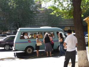 Jerevanská maršrutka