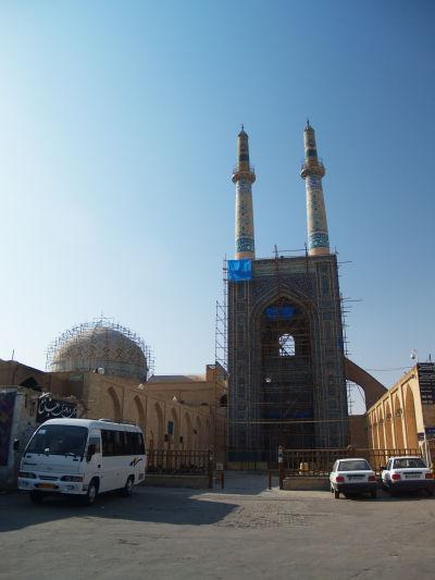 Komplex Piatkovej mešity (Masjid-e Jame) v Yazde