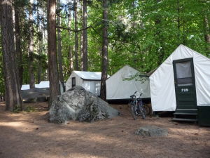 Národný park Yosemite - ubytovanie