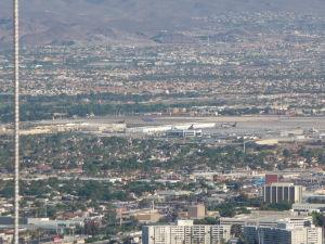 Letisko v Las Vegas z veže