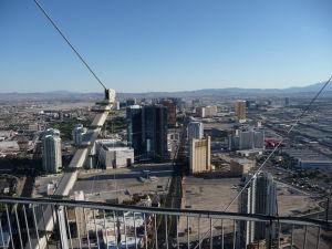 Las Vegas z veže