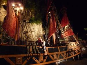 Piráti sa chystajú na show