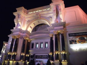 Nákupné stredisko vo Vegas