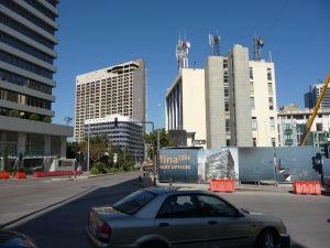 Mnoho budov v Bejrúte je poznačených rokmi vojny