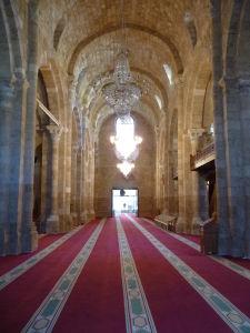 Mešita Al Omari, skonvertovaná z kostola