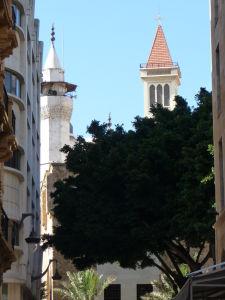 Svätostánky v Bejrúte