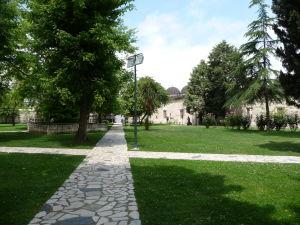 Sehzadova mešita (Princova mešita) - Priľahlý park