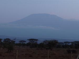 Kilimandžáro za súmraku