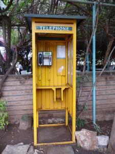 Namanga - Pohraničná dedinka na hraniciach s Tanzániou disponuje i telefónom