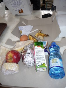 Namanga - Výdaný obed